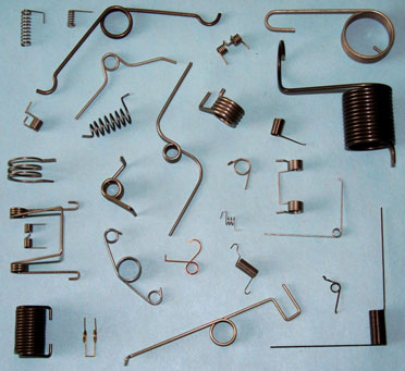 D.R. Templeman: Picture of Various Torsion Springs